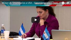 Video 3 Mision de Empresarios a USA