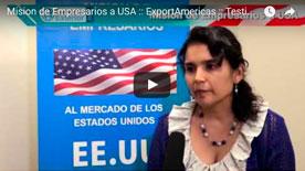 Video 4 Mision de Empresarios a USA